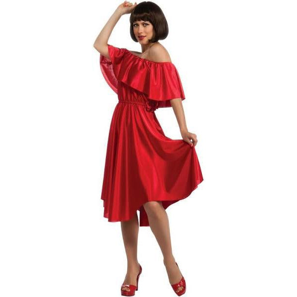1970's Saturday Night Fever Red Dress - Make It Up Costumes