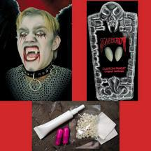 Scarecrow Fake Vampire Fangs - Classic - Make It Up Costumes