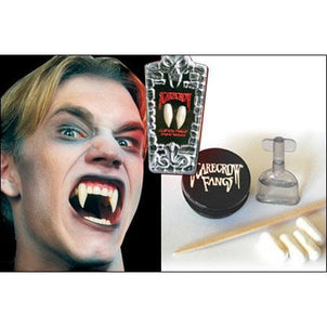 Scarecrow Fake Deluxe Vampire Fangs - Sabres - Make It Up Costumes