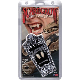 Scarecrow Vampire Fangs - Viper Split - Make It Up Costumes