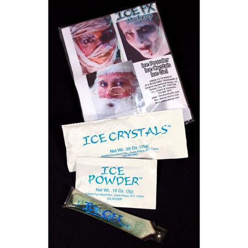 Ice FX Frost and Snow Makeup Starter Kit - Make It Up Costumes