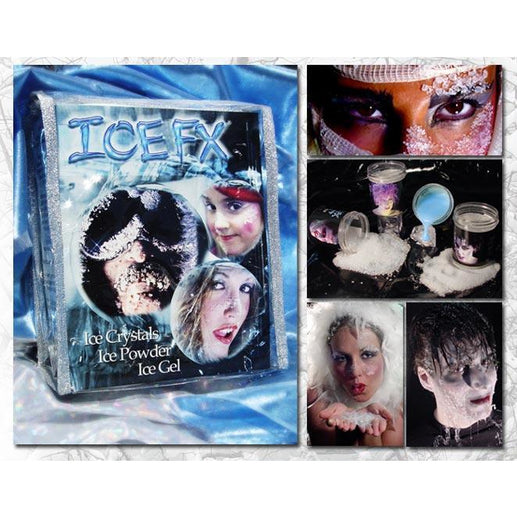Ice FX Frost and Snow Makeup Pro Kit - Make It Up Costumes