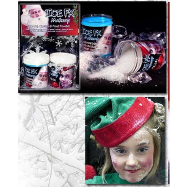 Ice FX Frost and Snow Makeup Mega Kit - Make It Up Costumes