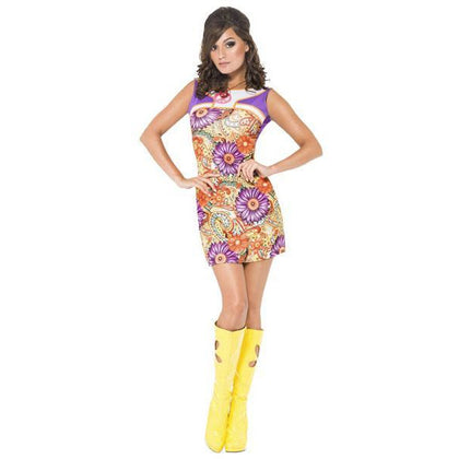 Women's 60's Costume Dress - Make It Up Costumes