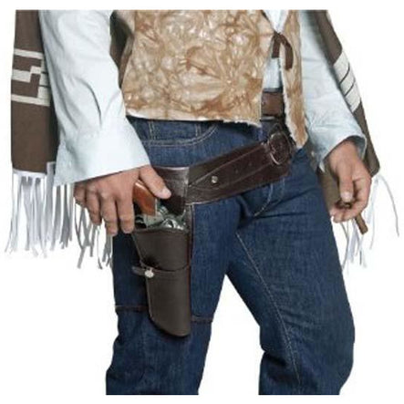 Authentic Western Belt and Holster Set - Make It Up Costumes