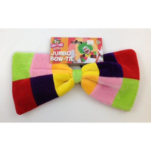 Large Clown Bow Tie - Make It Up Costumes
