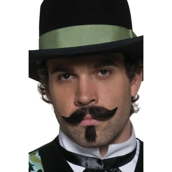 Fake Western Mustache and Beard - Make It Up Costumes