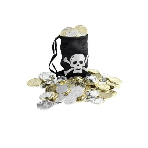 Pirate Bag with Coins - Make It Up Costumes