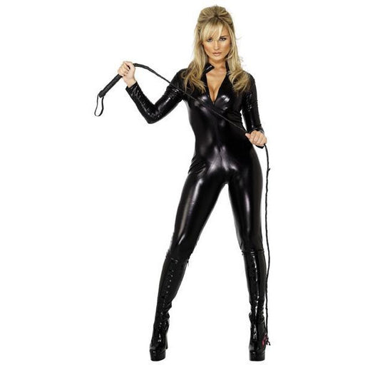 Women's Miss Whiplash Black Body Suit - Make It Up Costumes