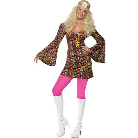1960's Hippie Dress Costume - Make It Up Costumes