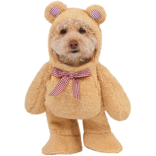 Walking Teddy Bear Pet Costume - Make It Up Costumes