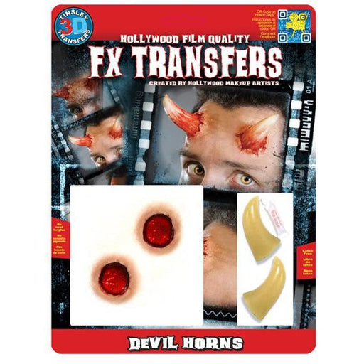 FX Transfers Devil Horns - Make It Up Costumes