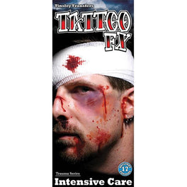 Intensive Care Temporary Tattoo Kit - Make It Up Costumes
