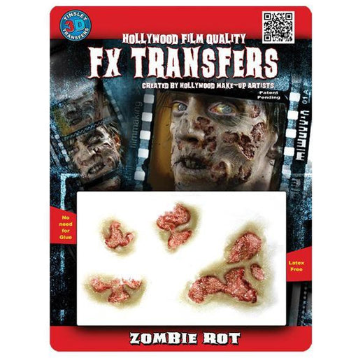 FX Transfers Zombie Rot Prosthetics - Make It Up Costumes