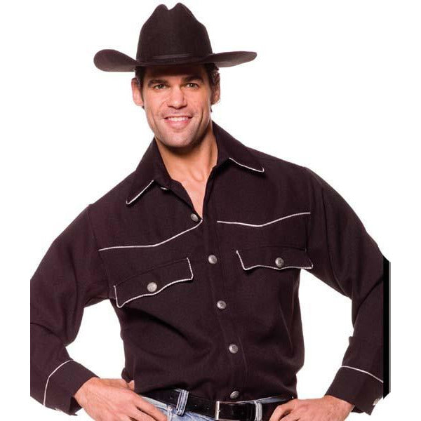 Men's Cowboy Costume Shirt - Make It Up Costumes