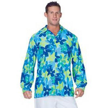 Men's Flower Power Hippie Shirt - Make It Up Costumes