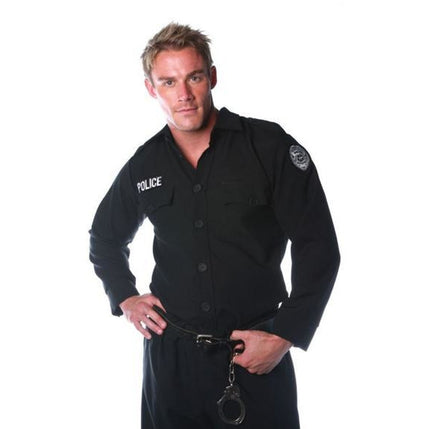 Adult Policeman's Shirt - Make It Up Costumes