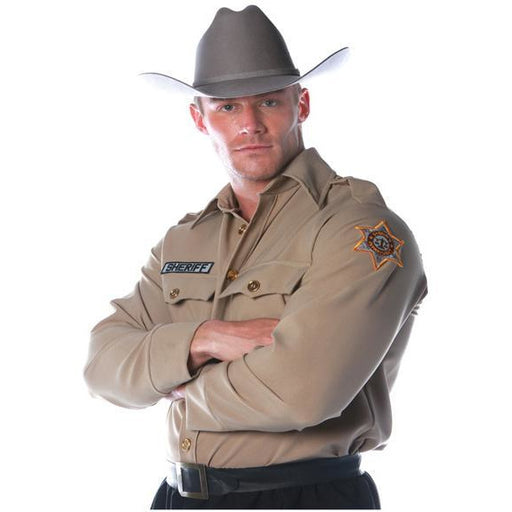 Sheriff Costume Shirt - Make It Up Costumes