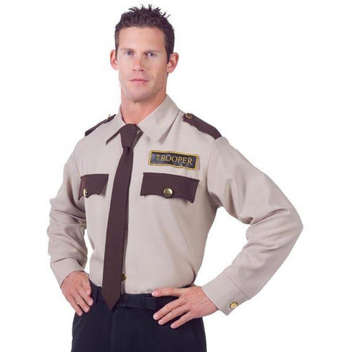 State Trooper Costume Shirt - Make It Up Costumes
