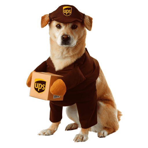 UPS Pal Dog Costume - Make It Up Costumes