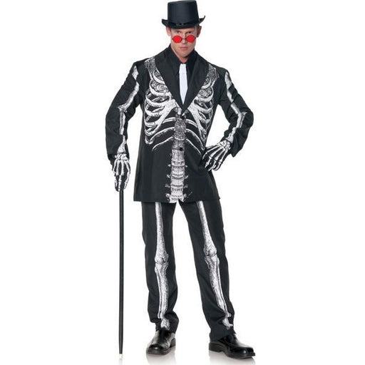 Adult Men's Bone Daddy Skeleton Costume - Make It Up Costumes