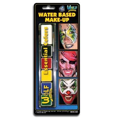 Wolfe FX Mini Face Paint Makeup Palette - Make It Up Costumes