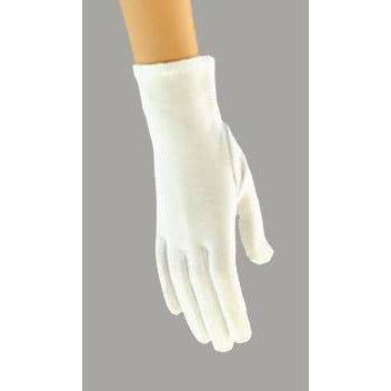 White Dress Gloves for Women - Cotton - Make It Up Costumes