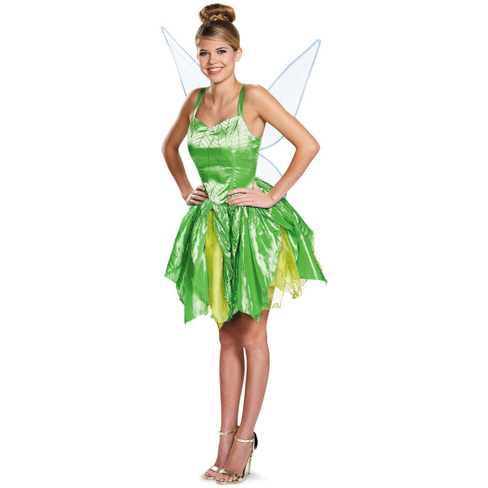 Prestige Adult Tinkerbell Costume - Make It Up Costumes