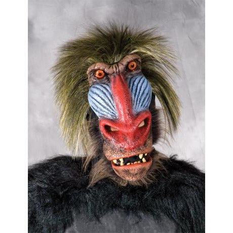 Deluxe Baboon Costume Mask - Make It Up Costumes