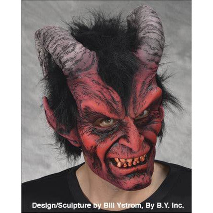 Scary Red Devil Mask - Make It Up Costumes