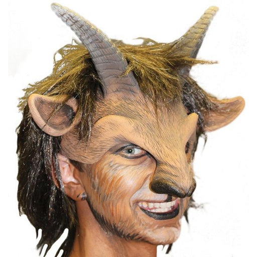 Latex Goat Head Mask - Make It Up Costumes