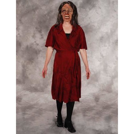 Mrs. Living Dead Female Zombie Costume and Mask - Make It Up Costumes