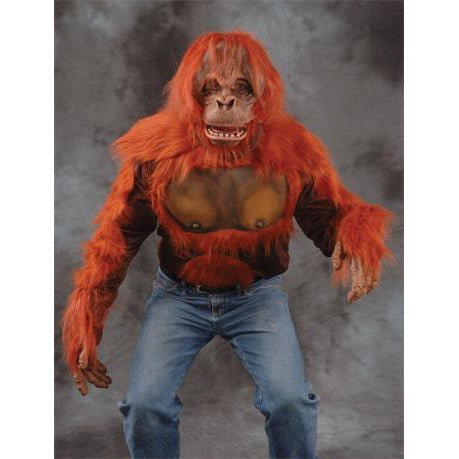 Orangutan Costume and Mask - Make It Up Costumes