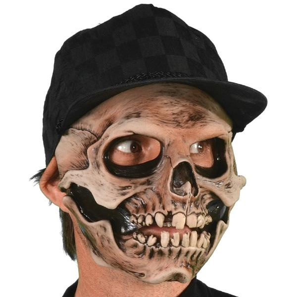 Latex Skull Face Mask - Make It Up Costumes