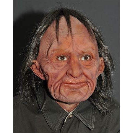 Supersoft Realistic Old Man Mask - Make It Up Costumes