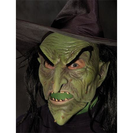 Ultimate Scary Witch Mask - Make It Up Costumes