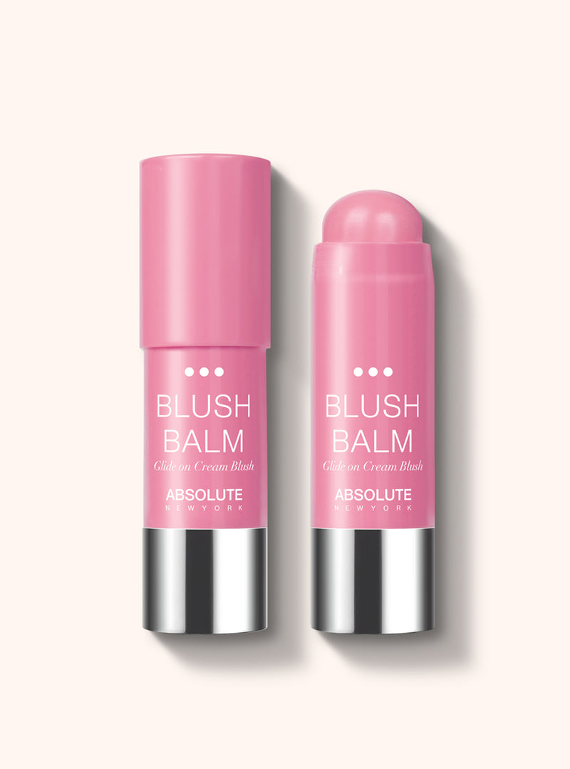 Blush Balm (Cotton Candy) by Absolute New York - retractable, cream stick blush in rosey pink.