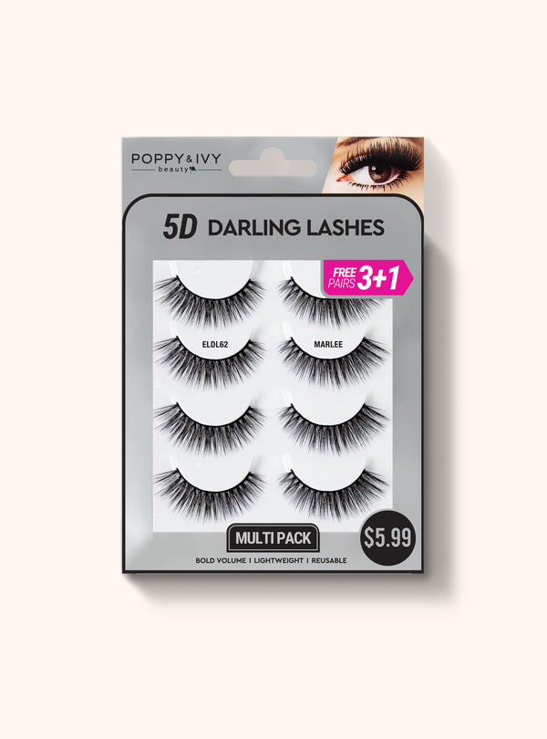 Darling Lashes - 4 Pairs