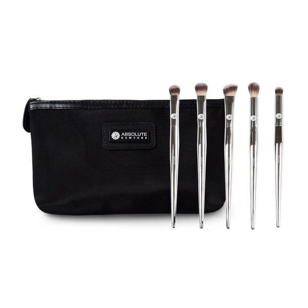 Silver Eye Brush Set
