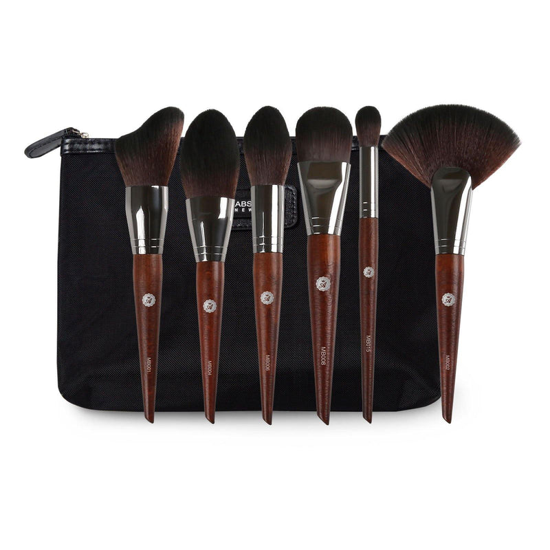 Brown Face Essentials Brush Set