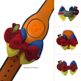 Frollo inspired Character Hair Bow | Swap your Bow Ears | MagicBand Bow | Hunchback of Notre Dame inspired Mouse Ears