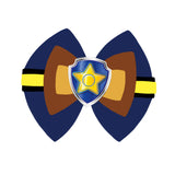 Chase inspired Character Hair Bow | Swap your Bow Ears | MagicBand Bow | Paw Patrol inspired Mouse Ears