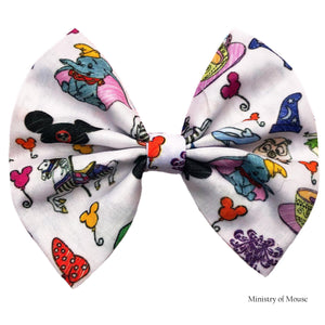 Fantasyland inspired Fabric Hair Bow | Swap Your Bow Ears | Mouse Ears | Custom Mouse ears | Magic Kingdom inspired Mouse Ears