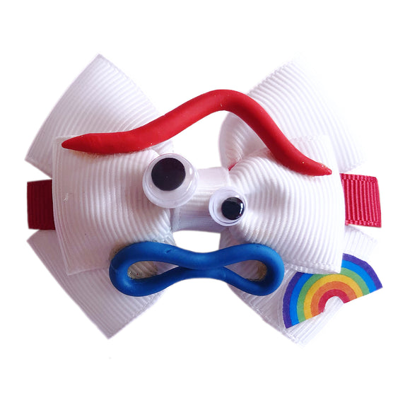 Forky inspired Character Hair Bow | Swap your Bow Ears | Toy Story 4 inspired Mouse Ears