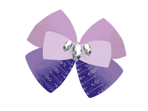 Elsa inspired Character Hair Bow | Swap your Bow Ears | Frozen 2 inspired Mouse Ears