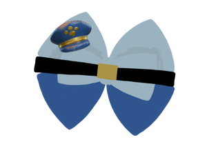 Officer Giggles McDimples inspired Character Hair Bow | Swap your Bow Ears | Toy Story 4 inspired Mouse Ears