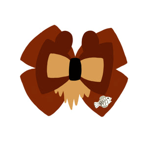 Koda inspired Character Hair Bow | Swap your Bow Ears | MagicBand Bow | Brother Bear inspired Mouse Ears