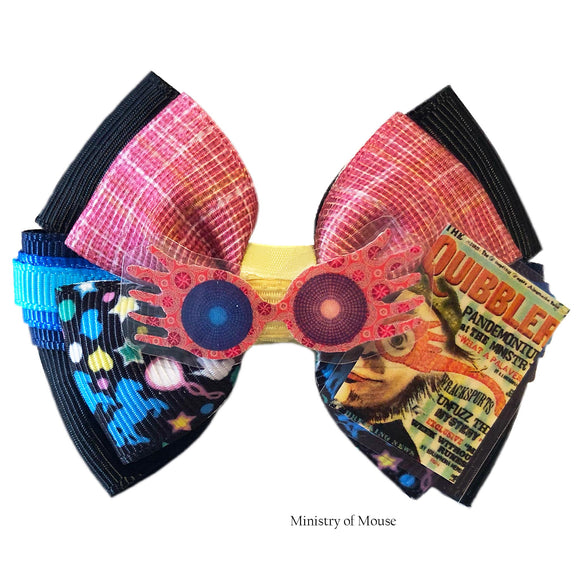 Luna-Lovegood-inspired-Character-Hair-Bow-|-Swap-your-Bow-Ears-|-MagicBand-Bow-|-Headband-|-Sequin-Mouse-Ears-|-Harry-Potter-inspired-Mouse-Ears-|-Ministry-of-Mouse