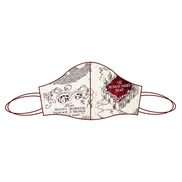 Harry Potter inspired Fabric Face Mask | Marauders Map 1