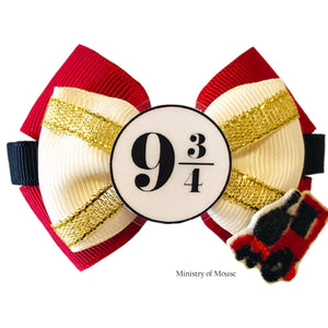 Platform-inspired-Character-Hair-Bow-|-Swap-your-Bow-Ears-|-MagicBand-Bow-|-Headband-|-Sequin-Mouse-Ears-|-Harry-Potter-inspired-Mouse-Ears-|-Ministry-of-Mouse